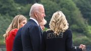 Wieder eine Jackenbotschaft der First Lady