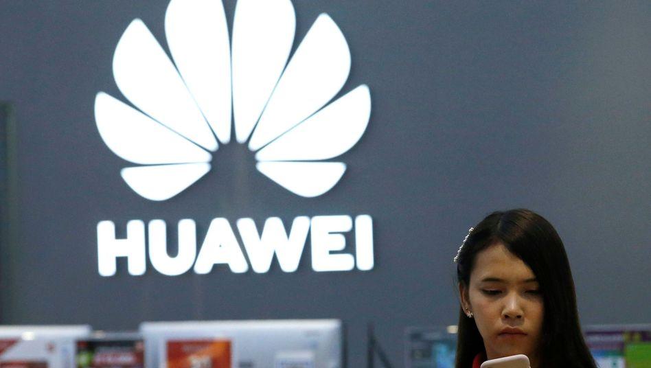 Huawei-Geschäft in Bangkok