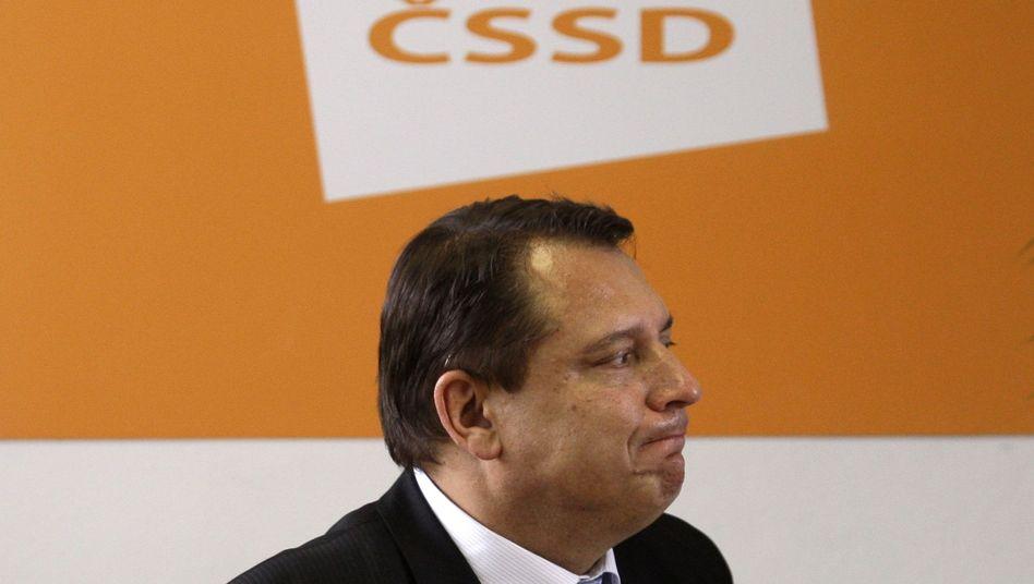 CSSD-Chef Jiri Paroubek: Gewinner und Verlierer zugleich