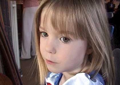 Madeleine, now four years old, went missing on May 3.