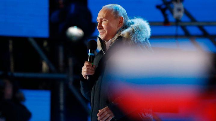 Wahl in Russland: Putins Sieg