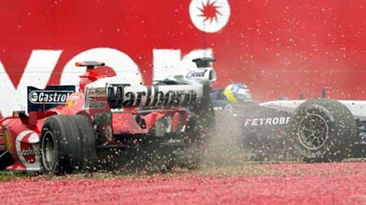 """Schumacher über F2005: """"Das Auto ist gut und schnell"""""""