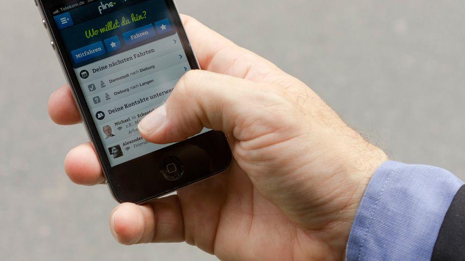 Smartphone-App Flinc: Vernetzt Fahrer mit potenziellen Mitreisenden