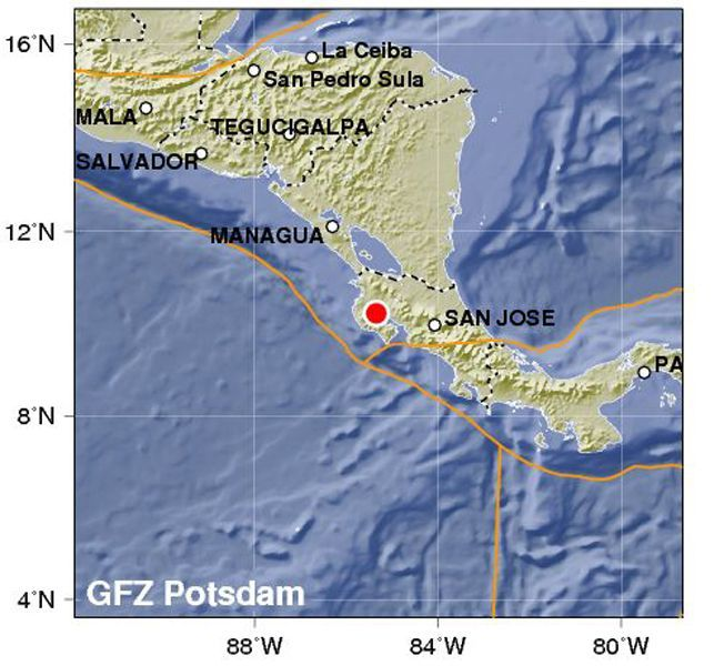EINMALIGE VERWENDUNG Erdbeben / Tsunami-Warnung