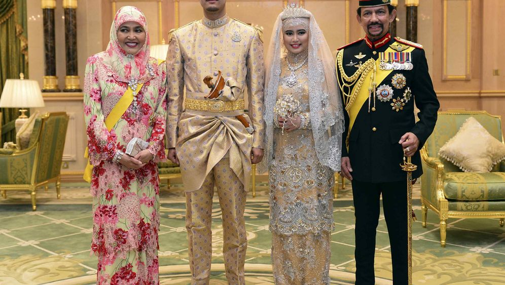 Brunei: Prunk im Sultanspalast