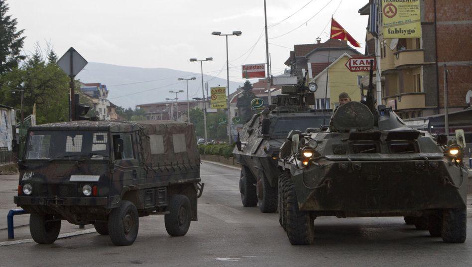 Mazedonien: Viele Tote und Verwundete bei Kämpfen in Kumanovo