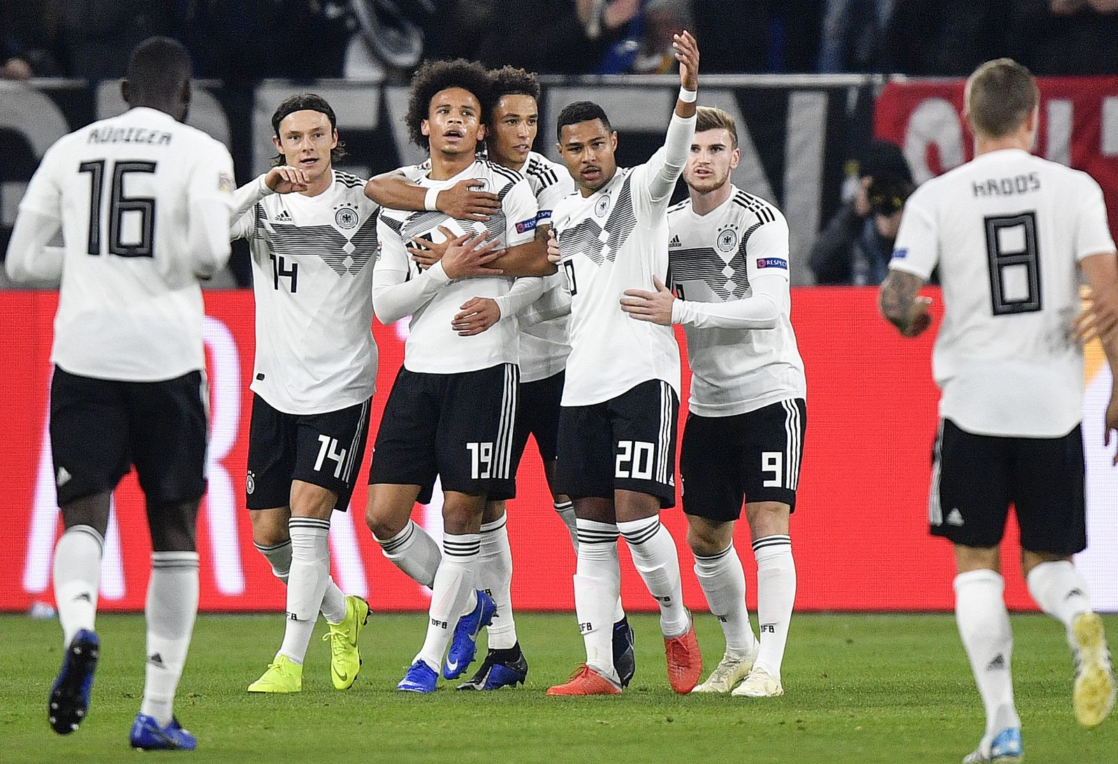 Germany Netherlands Nations League Soccer