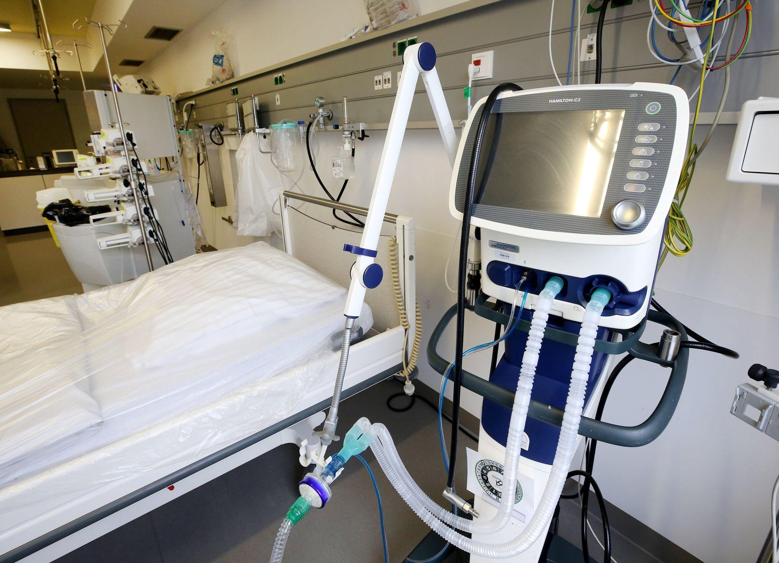 Coronavirus - Kliniken rüsten sich für erwarteten Ansturm