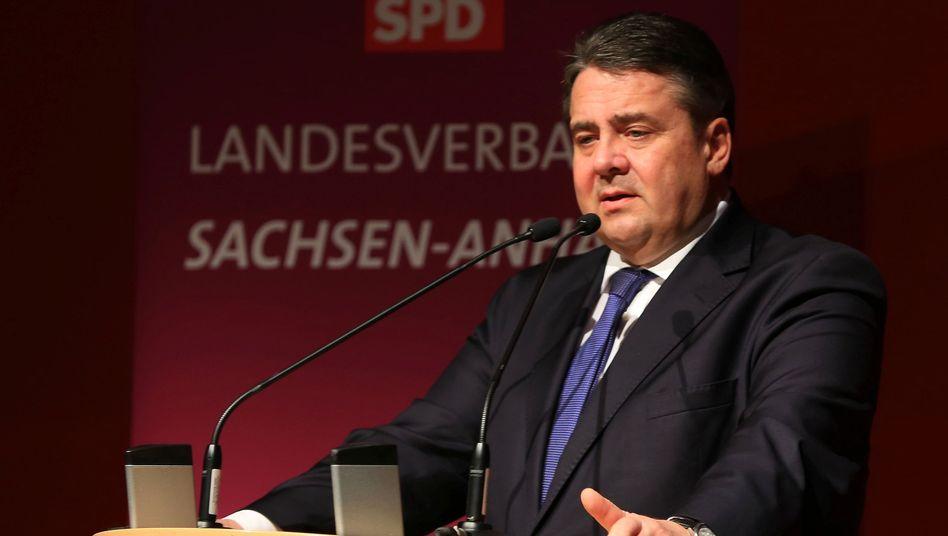 """SPD-Chef Gabriel: """"Das kann nicht sein"""""""