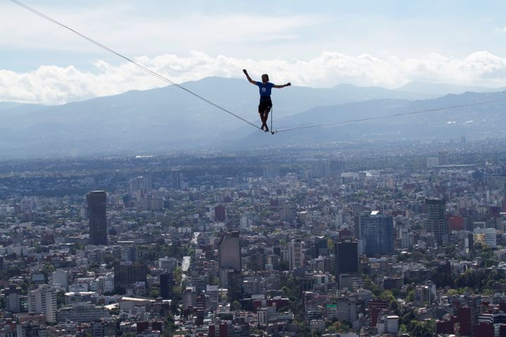 Mexico City: Städtischer Ballungsraum mit 20 Millionen Einwohnern.