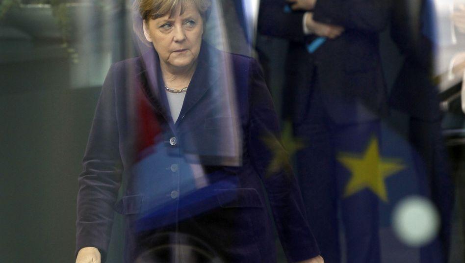 """Angela Merkel in Berlin: """"Sie führt Europa in die falsche Richtung"""""""