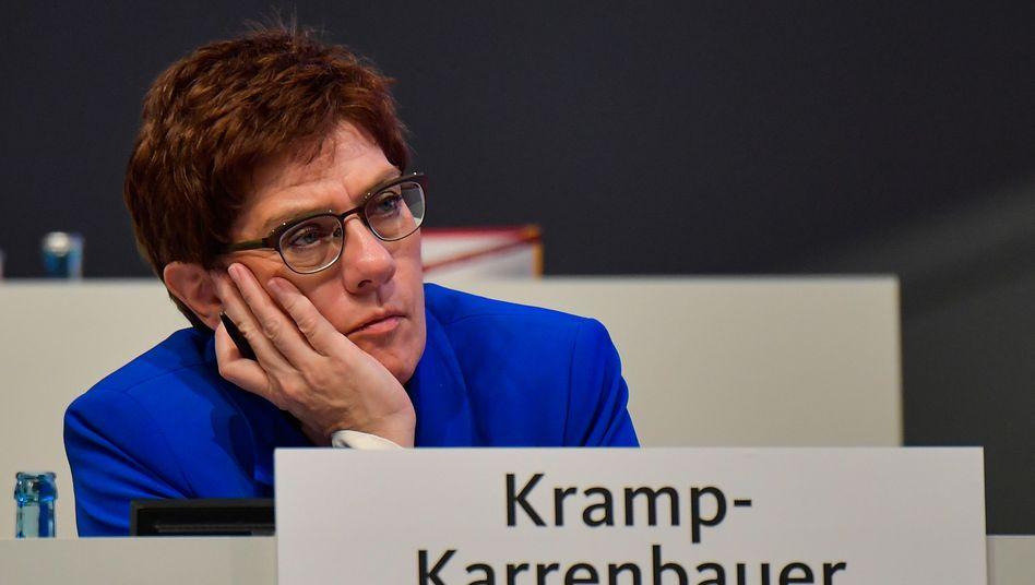 Annegret Kramp-Karrenbauer im November 2019: Thüringen-Krise verdeutlichte Machtverlust der Parteichefin