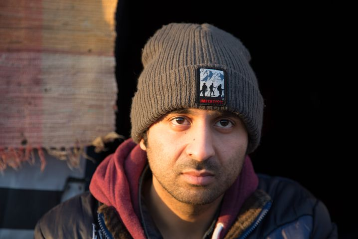 Syrer Malih: Nachts geht es zur Autobahn