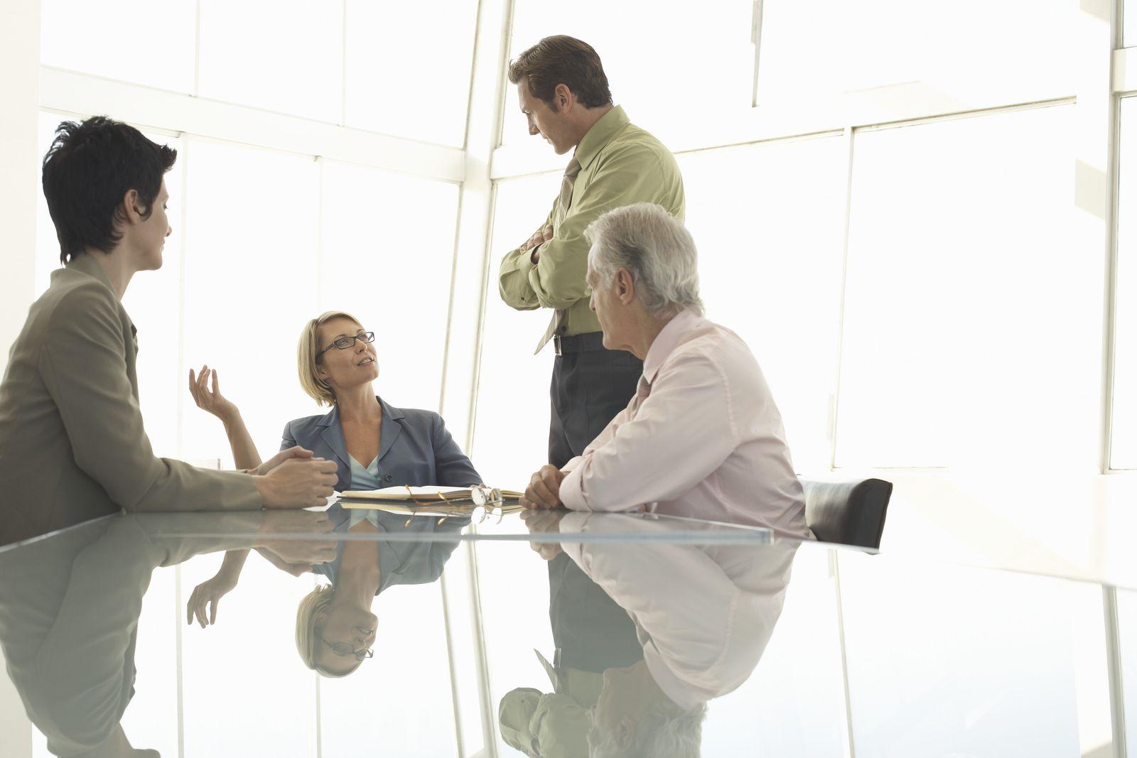 NICHT MEHR VERWENDEN! - Büro / Meeting / Besprechung
