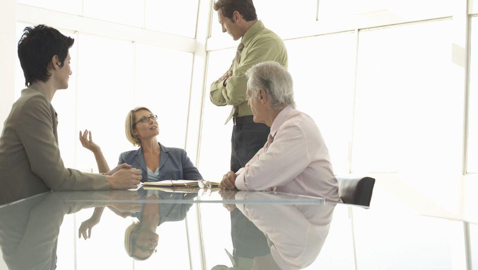 Büro-Gespräch: Alles ist Verhandlungssache