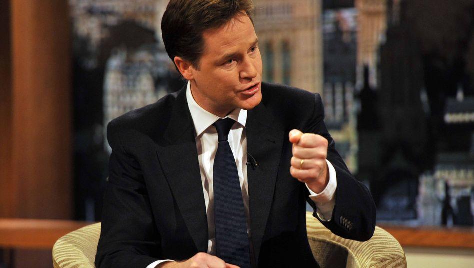 Streit über EU-Veto: Vize Clegg meutert gegen britischen Premier Cameron