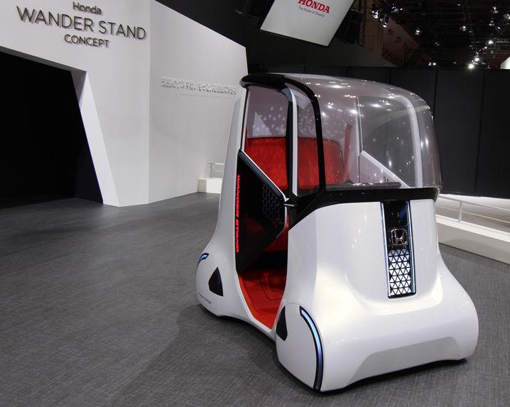 Honda hat ein Auto für Menschen mit Handicap entwickelt