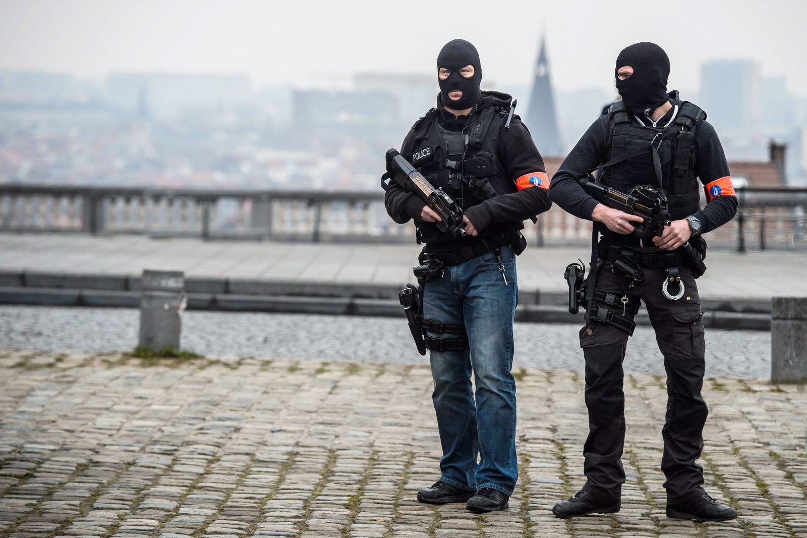 Brüssel Terror Polizei