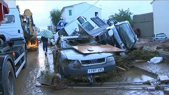 Tote bei Überschwemmungen: Chaos auf Mallorca