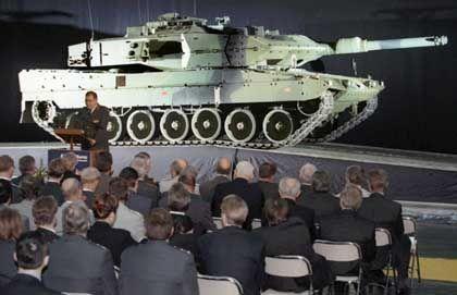 Leopard Panzer: Waffenexporte aus der EU nehmen stark zu