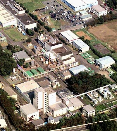 Die Anlage in Tokaimura