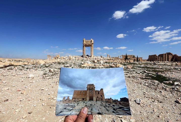 Palmyra nach der IS-Zerstörung