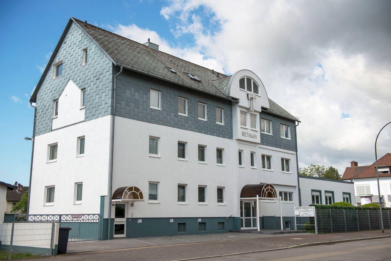 Evangeliums Christen Baptisten Gemeinde in Frankfurt am Main (Foto vom 24.05.2020). Bei einem Gottesdienst am 10. Mai in