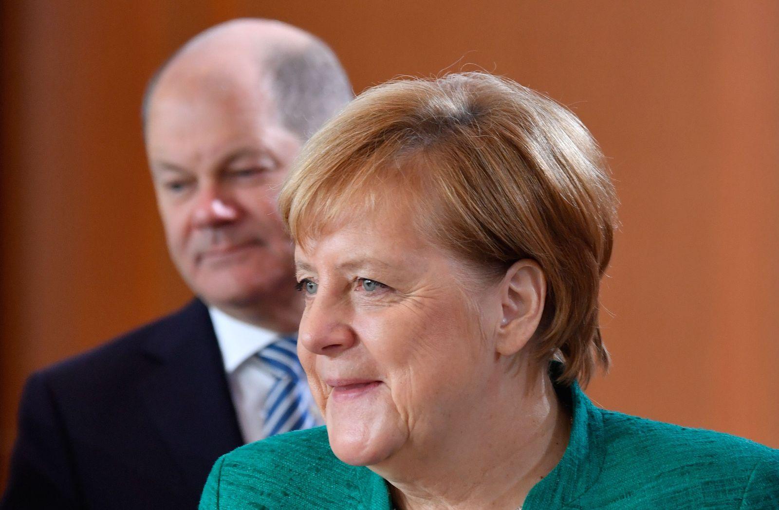 Olaf Scholz / Angela Merkel