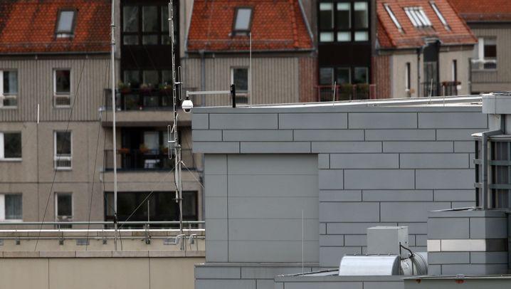 Spähskandal: Das Dach der US-Botschaft