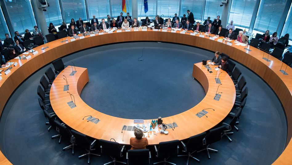Angela Merkel vor dem NSA-Untersuchungsausschuss, 16. Februar 2017