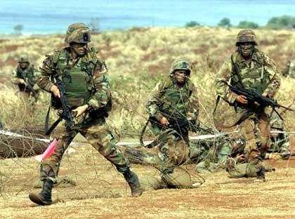 US-Bodentruppen trainieren auf Hawaii
