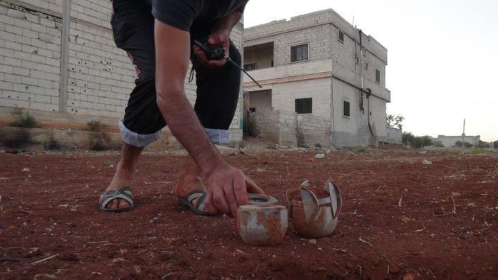 Streumunition, die etwa im Bürgerkrieg in Syrien eingesetzt wird, tötet und verletzt oft Zivilisten