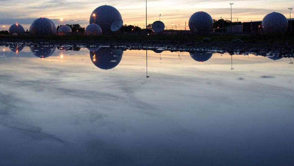 Radarkuppeln des BND in Bad Aibling: Einträge aufgetaucht