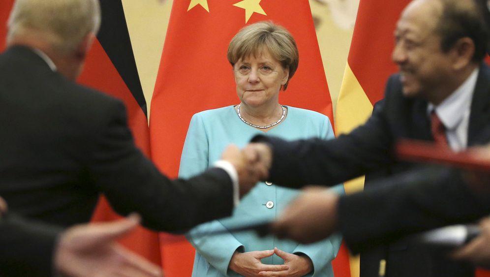 """Merkel in China: """"Ich sag einfach, was ich möchte"""""""