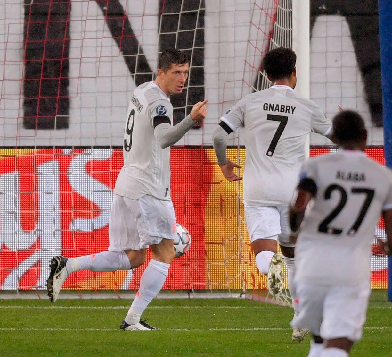 03.11.2020, Fussball Championsleague 2020/2021, Gruppenphase Vorrunde, 3. Spieltag, RB Salzburg - FC Bayern München, in