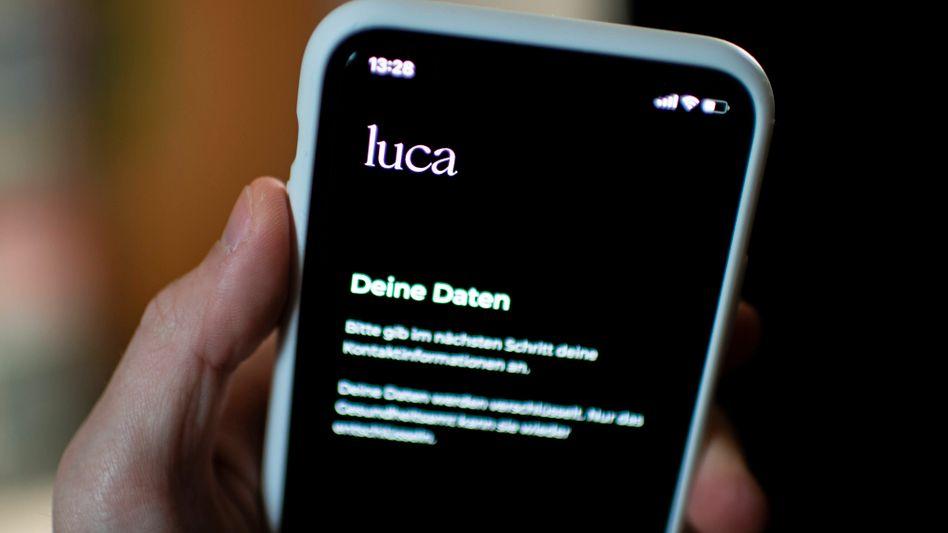 Luca-App auf einem Smartphone: »Begrenzte Prüftiefe«