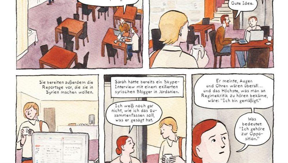 """Comic """"Im Schatten des Krieges"""": Diese Reporter machen einen rasend"""