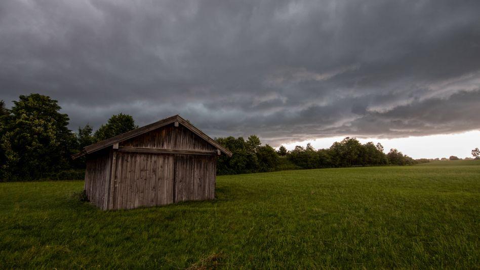 Unwetter zogen über Bayern – und sollen nun im Nordosten ankommen