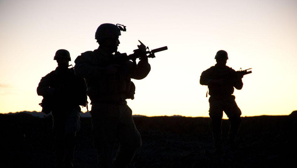 US-Elitekämpfer im Einsatz