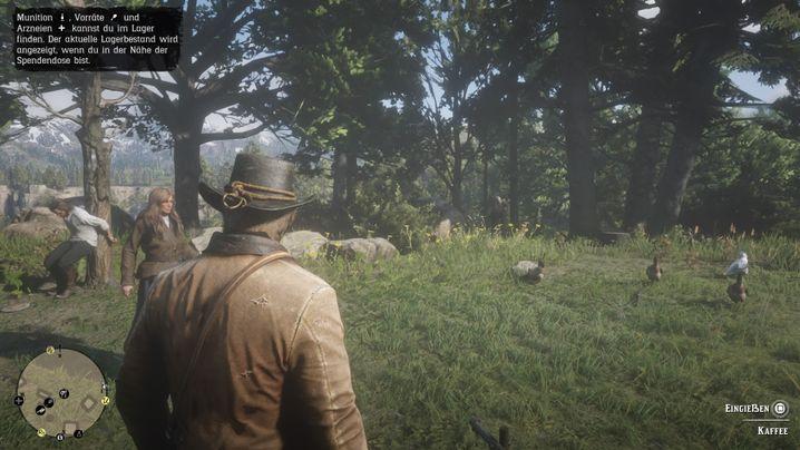 """Szene aus """"Red Dead Redemption II"""""""