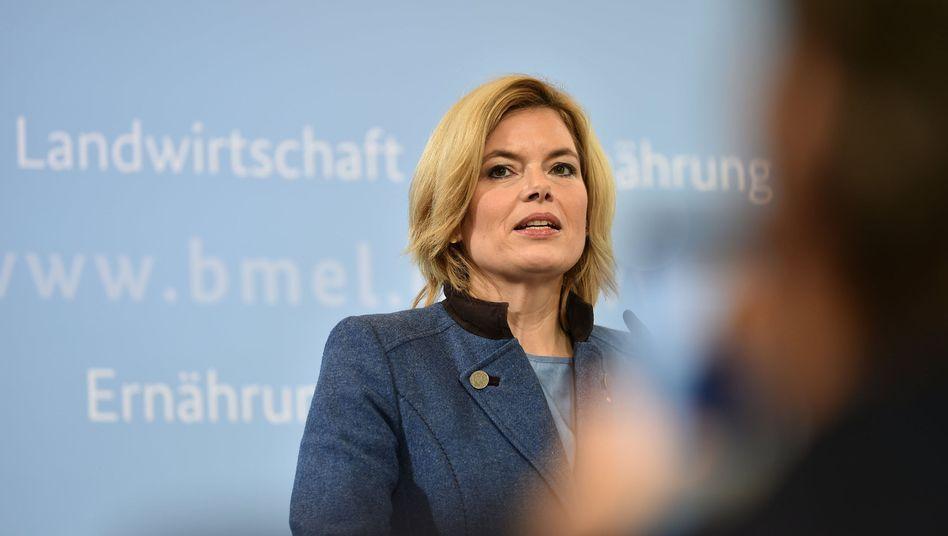 Bundeslandwirtschaftsministerin Klöckner