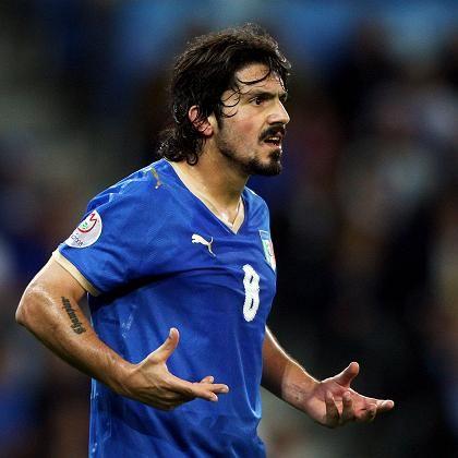 """Profi-Fußballer Gennaro Gattuso: Millionen aus Süditalien für die """"Squadra Azzura"""""""