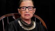 Sorge um Gesundheit von US-Verfassungsrichterin Ginsburg