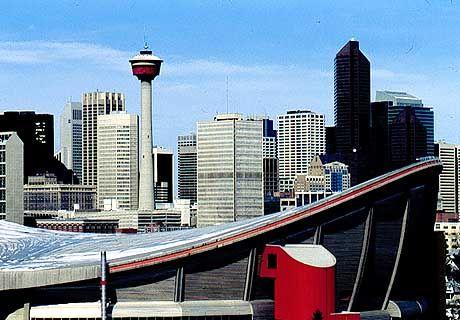 Calgary: Blick vom Scotchman's Hill auf Downtown