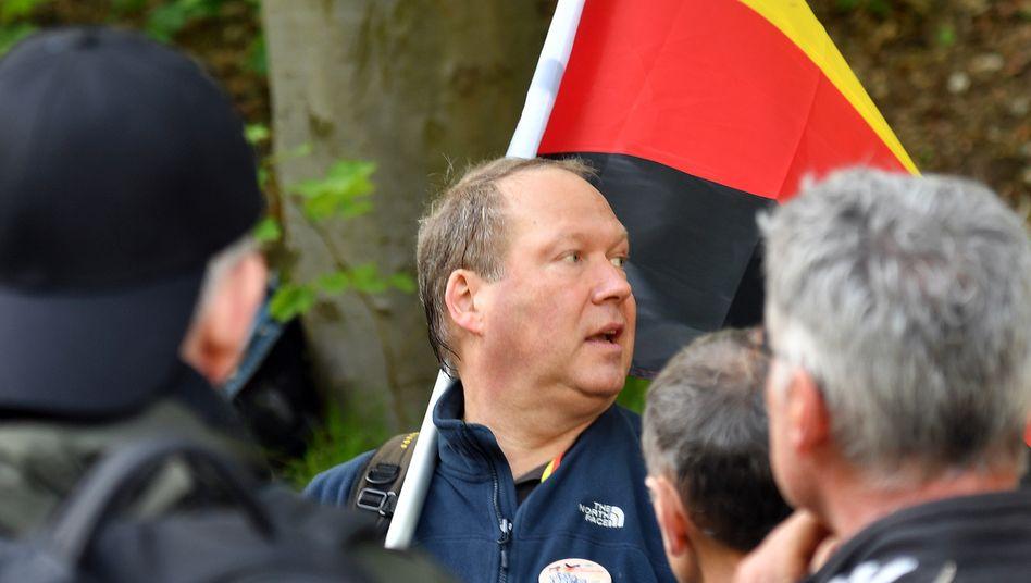 WerteUnion-Chef Otte (beim sogenannten Neuen Hambacher Fest)