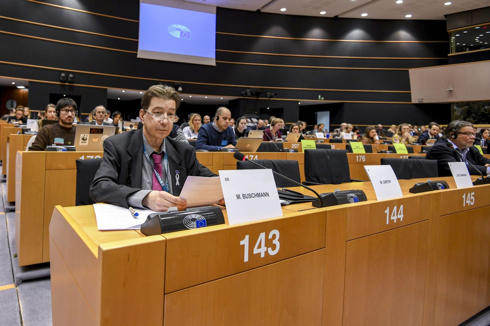ENVI hearing on the revaluation of the wolf population in the EU