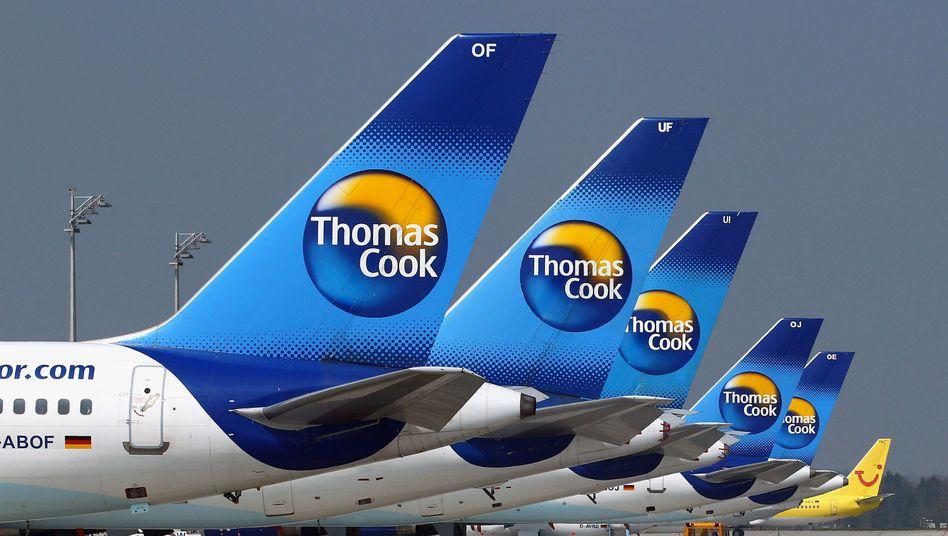 Flugzeuge von Thomas Cook in München: Zweifel an der Bonität