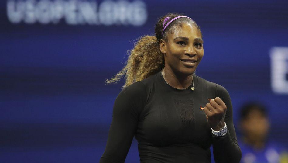 Serena Williams steht zum zehnten Mal im Finale der US Open