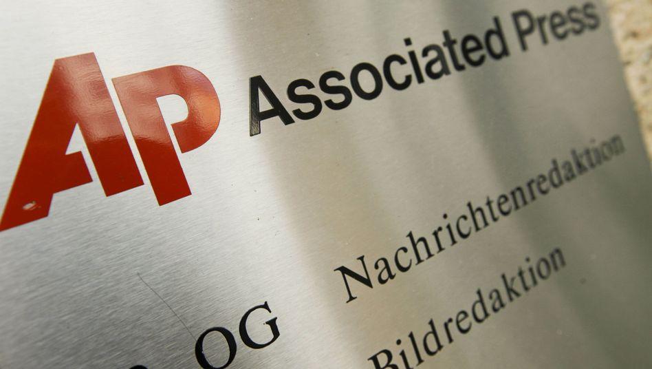 AP-Logo: Die US-Nachrichtenagentur will ab Januar mit der dpa kooperieren