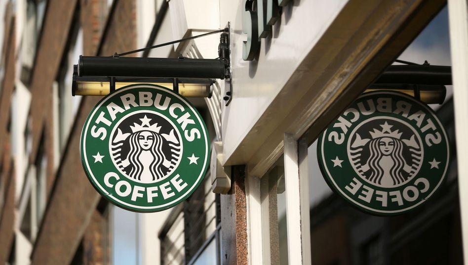 Starbucks-Filiale in London: Wichtigster Markt in Europa